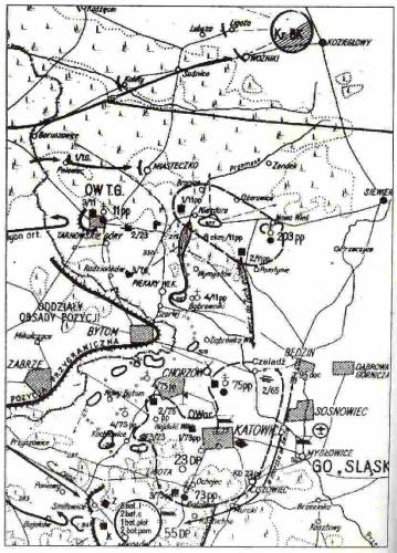 Ugrupowanie sił polskich w 1939 r.
