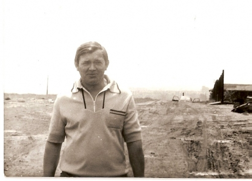 Ul. Łódzka, lata 70