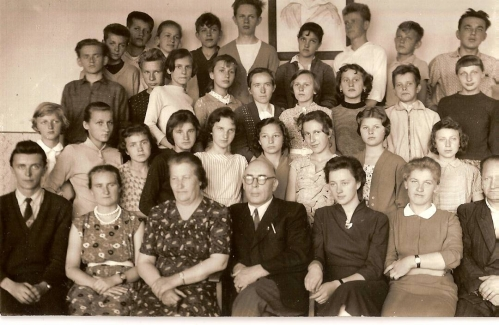 Rok 1958/59, kl. 7b.
