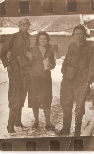 Panowie: Pilarek, A. Pacierpnik, pani Teresa Straszak