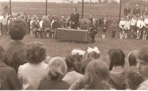Społeczność szkolna - 1969 r.