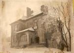 Dawny dom Fryczów w latach 50 (wtedy klub górniczy)