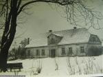 Klimontowski dwór zimą