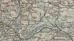 Mapa austriacka z 1916 r.