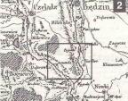 Mapa województwa krakowskiego i Księstwa Siewierskiego z 1787 r.
