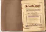 Arbeitsbuch pracownika kopalni Klimontowgrube vel Bismarck
