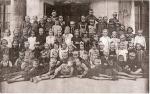 Młodzież szkolna, 1945 r.