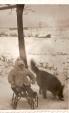 Ul. Klonowa w latach 60., w tle upadowa kopalni Klimontów