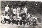 Zgrupowanie kolarskie w Ślemieniu k. Żywca, lata 70