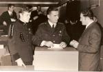 W środku Walenty Haba – komendant Straży Pożarnej przy KWK Porąbka-Klimontów