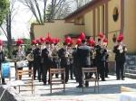 Orkiestra górnicza - uroczystość zasadzenia Debów Pamięci 25 IV 2010 rok