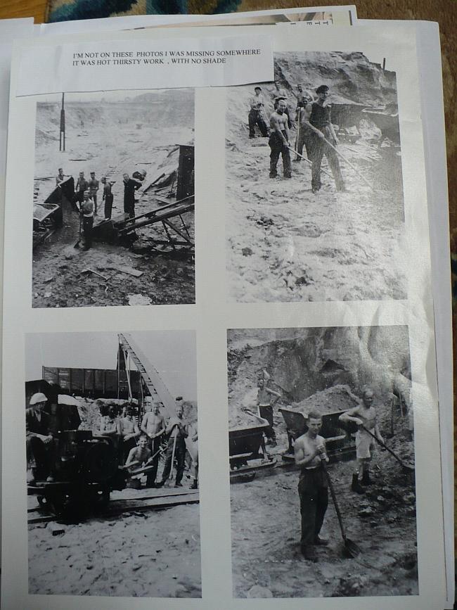 Zdjęcia Geralda Mallera z okresu pobytu w obozach jenieckich